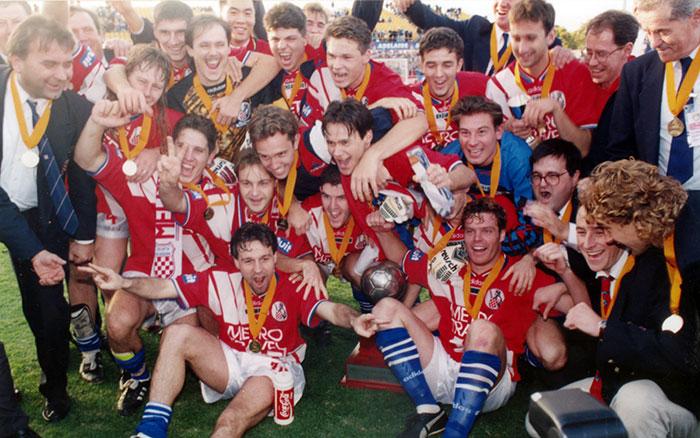 1994-1995, Australian Champions