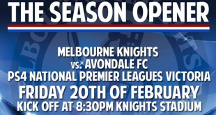 NPL Victoria Season Opener Knights vs. Avondale
