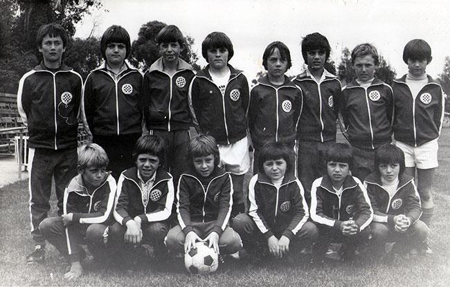 Melbourne Croatia Juniors - 1979