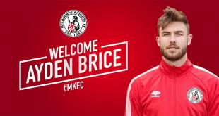 Ayden Brice first recruit for 2018