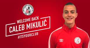 Caleb Mikulic returns home to Somers Street