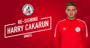 Harry Cakarun re-signs