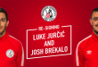 Luke and Josh re-commit to Melbourne Knights