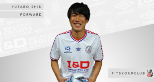 Japanese forward Yutaro Shin joins the Knights for 2019
