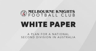 Melbourne Knights FC – A White Paper commentary