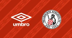 Umbro and Knights continue partnership